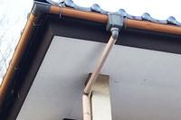 外壁塗装 笠間市サイディングボード壁塗装(施工前)