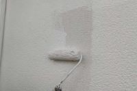外壁塗装 ひたちなか市モルタル壁塗装(下塗り)