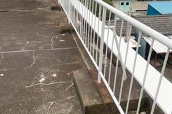 外壁塗装 真岡市モルタル壁塗装(屋上柵)