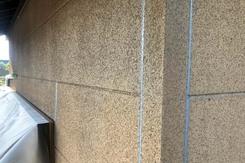 外壁塗装 城里町サイディングボード壁塗装(下地調整)