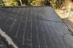 外壁屋根塗装 坂東市モルタル壁塗装(足場、洗浄)