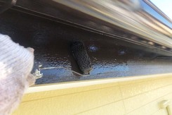 外壁塗装 かすみがうら市サイディングボード壁(付帯設備)