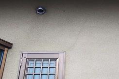 外壁塗装 那珂市モルタル壁塗装(施工前)