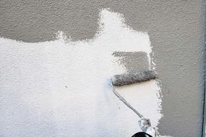 外壁塗装 古河市 モルタル壁塗装(下~中塗り)