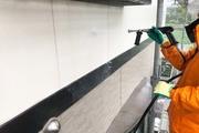 外壁塗装 水戸市 サイディングボード壁塗装(足場、洗浄)