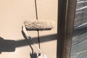 外壁塗装 稲敷市トタン壁塗装(中~上塗り)