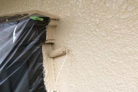 外壁屋根塗装 坂東市モルタル壁塗装(塗り)