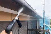 外壁塗装 潮来市 サイディングボード壁塗装(足場、洗浄)