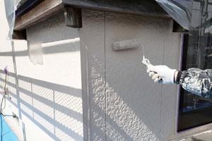 外壁塗装 つくば市サイディングボード壁(下塗り~上塗り)