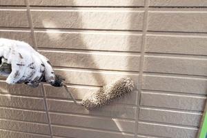 外壁塗装 鉾田市 サイディングボード壁塗装(塗り)