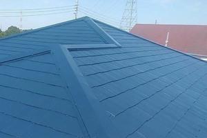 屋根塗装 日立市スレート屋根塗装(全工程)