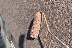 外壁塗装 小山市 モルタル壁塗装(下塗り~上塗り)