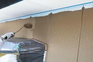 外壁塗装 潮来市サイディングボード壁塗装(塗り)