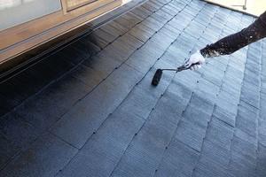 外壁屋根塗装 銚子市サイディングボード(屋根の塗り)
