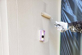 外壁屋根塗装 銚子市サイディングボード(壁の塗り)