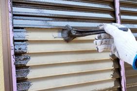 外壁塗装 つくば市サイディングボード(下地調整、付帯設備)