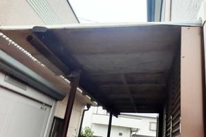 外壁塗装 坂東市 サイディングボード壁塗装(施工前)