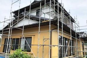 外壁塗装 茨城町 サイディングボード壁塗装(完工)