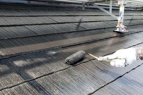 外壁屋根塗装 東海村 サイディングボード壁塗装(塗り)