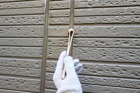 外壁屋根塗装 石岡市サイディングボード(洗浄、下地調整)