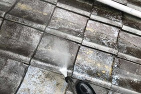 外壁屋根塗装 常陸大宮 サイディングボード(足場・洗浄)