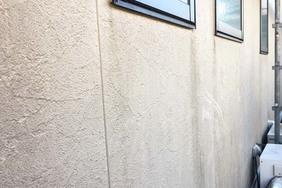 外壁屋根塗装 水戸市 サイディングボード(施工前)