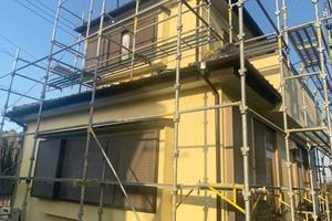 外壁塗装 稲敷市 サイディングボード壁(完工)