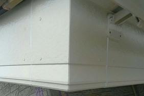 付帯設備塗装 茂木町サイディングボード壁(付帯設備・完工)