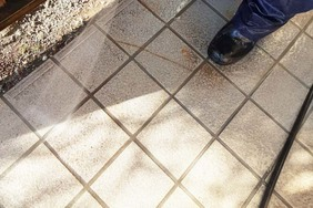 外壁塗装 笠間市モルタル壁塗装(洗浄)