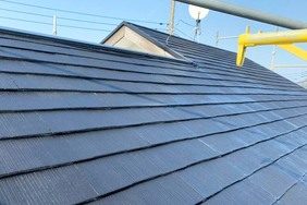 屋根塗装 稲敷市スレート屋根塗装(屋根塗り)