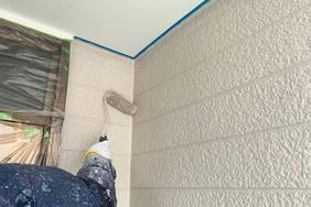 外壁屋根塗装 小山市サイディングボード壁(壁塗り)