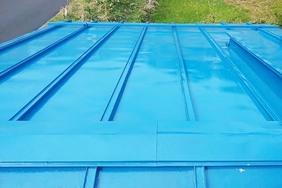 屋根塗装 矢祭町 トタン屋根塗装(完工)