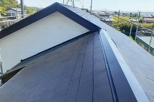 屋根塗装 稲敷市スレート屋根塗装(完工)