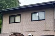 外壁屋根塗装 那珂川町サイディングボード壁塗装(施工前)