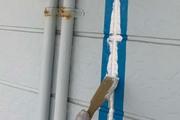 外壁塗装 いわき市サイディングボード壁塗装(コーキング)