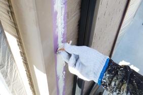 外壁屋根塗装 那珂川町サイディングボード(洗浄、下地調整)