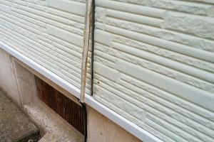 外壁屋根塗装 筑西市 サイディングボード壁塗装(施工前)