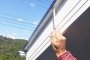 外壁塗装 日立市サイディングボード壁塗装(軒天工事)