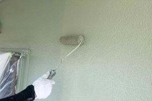 外壁屋根塗装 鹿嶋市 モルタル壁塗装(壁の塗り)