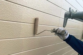 外壁塗装 日立市サイディングボード壁塗装(塗り)