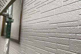外壁屋根塗装 水戸市 サイディングボード壁塗装(壁の塗り)