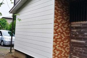 外壁屋根工事 潮来市 モルタル壁張り替え