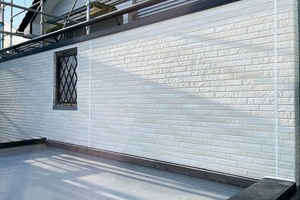 外壁塗装 阿見町 サイディングボード壁(工事)