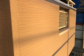 外壁屋根塗装 筑西市サイディングボード壁塗装(完工)