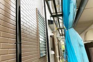外壁塗装 阿見町 サイディングボード壁(完工)