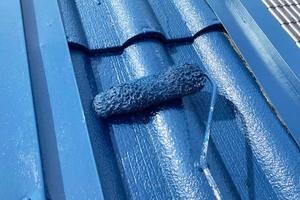 外壁塗装 棚倉町 セメント屋根塗装(屋根の塗り)