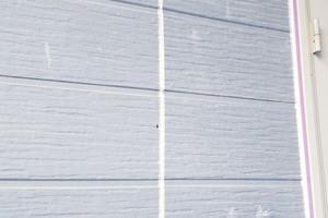 外壁塗装 北茨城サイディングボード壁(下地調整)