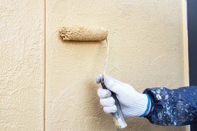 外壁塗装 小山市サイディングボード壁(壁の塗り)