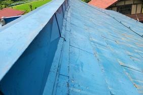 外壁塗装 棚倉町 トタン屋根塗装(施工前)