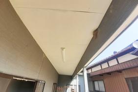 外壁塗装 小山市サイディングボード壁(施工前)